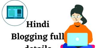 Hindi Blogging full details in hindi